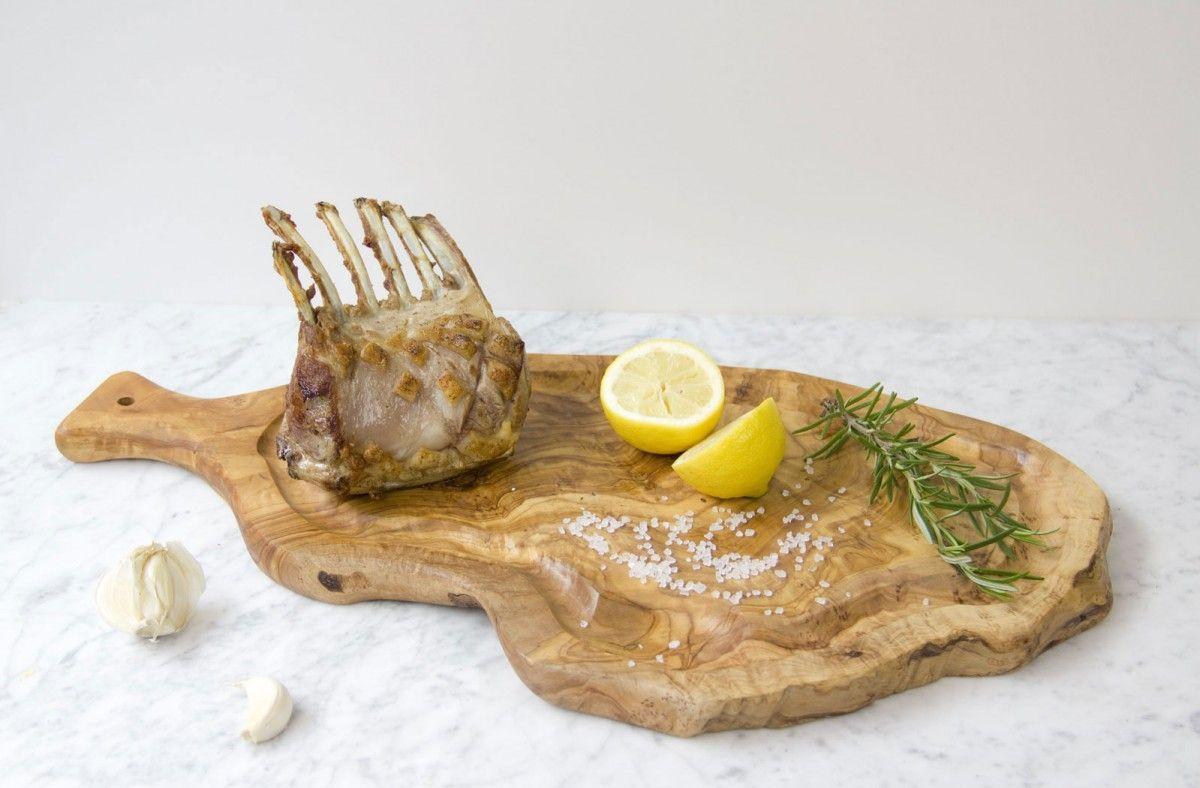 olijfhouten-vleesplank